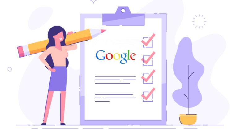 Liste des mises à jour de l'algorithme Google SEO