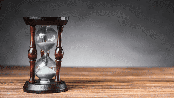 sablier temps pour retour sur investissement